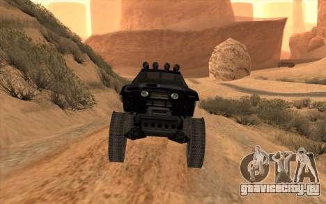 Кайман для GTA San Andreas вид сзади слева