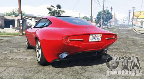 Alfa Romeo Disco Volante 2013 [add-on] для GTA 5 вид сзади слева