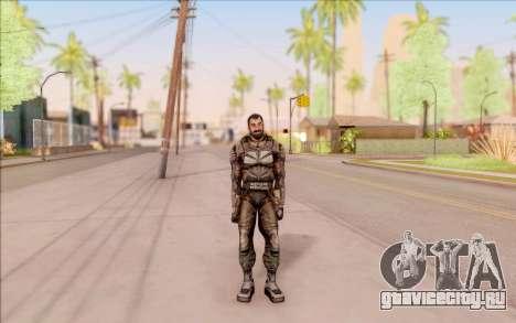 Вано из S.T.A.L.K.E.R. в комбинезоне СЕВА для GTA San Andreas третий скриншот