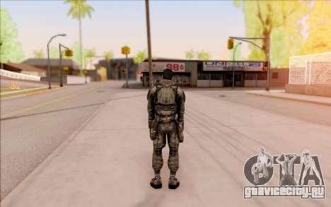 Вано из S.T.A.L.K.E.R. в комбинезоне СЕВА для GTA San Andreas пятый скриншот
