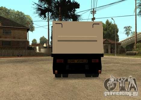 Realistic Arctic2 Trailer для GTA San Andreas вид сзади слева
