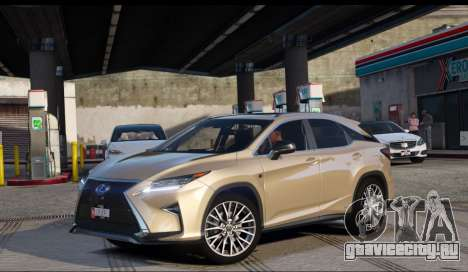 Lexus RX450H F-Sport Final для GTA 5