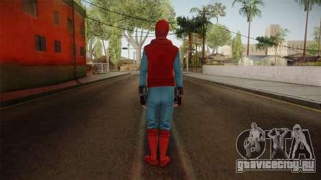 Spiderman Homecoming Skin v2 для GTA San Andreas третий скриншот