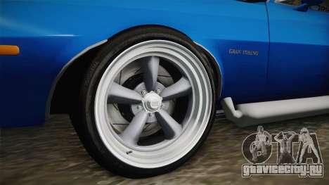 Ford Gran Torino Cabrio 1975 для GTA San Andreas вид сзади