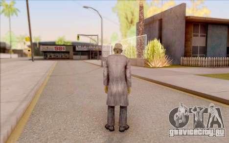 Зомби учёный из S.T.A.L.K.E.R. для GTA San Andreas четвёртый скриншот