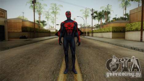 Marvel Future Fight - Spider-Man 2099 v1 для GTA San Andreas второй скриншот