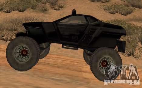 Кайман для GTA San Andreas вид слева