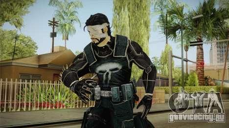 Punisher Omega Skin для GTA San Andreas