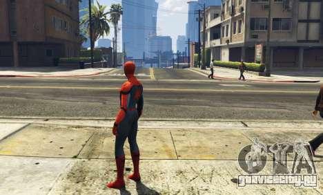 Spiderman [Add-On Ped] 2.2 для GTA 5