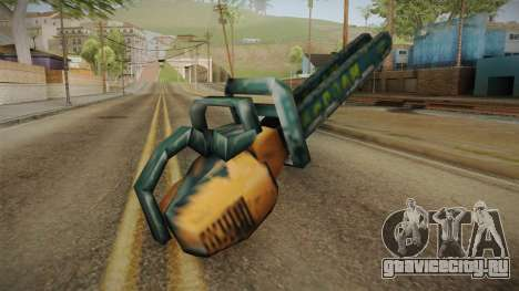 Motosierra Doble Hoja Chainsaw для GTA San Andreas третий скриншот
