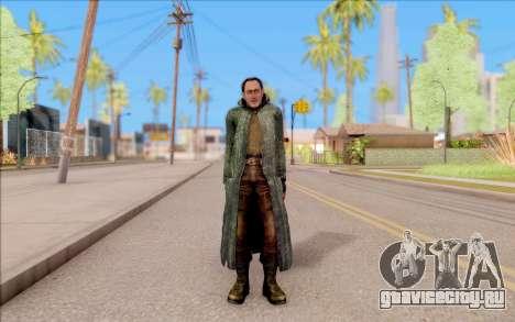 Захар из S.T.A.L.K.E.R. для GTA San Andreas второй скриншот