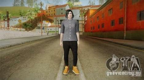 GTA Online: SmugglerRun Female Skin для GTA San Andreas второй скриншот