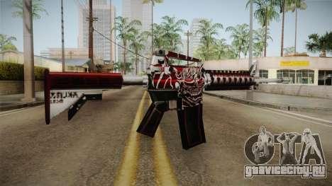 SFPH Playpark - Akuma M4A1 для GTA San Andreas второй скриншот