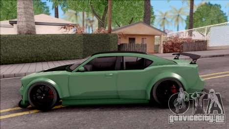GTA V Bravado Buffalo Edition v1 для GTA San Andreas вид слева