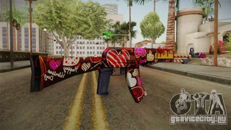 SFPH Playpark - Chocolate AN94 для GTA San Andreas