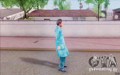 Билдовский учёный из S.T.A.L.K.E.R для GTA San Andreas третий скриншот