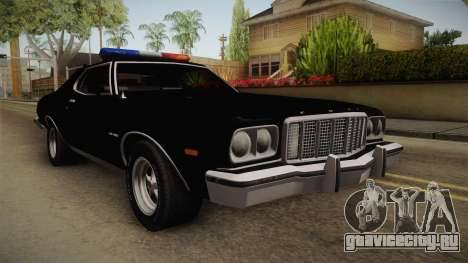 Ford Gran Torino Police LVPD 1975 для GTA San Andreas