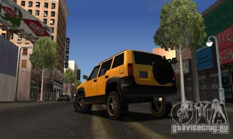 2002 Landstalker для GTA San Andreas вид справа