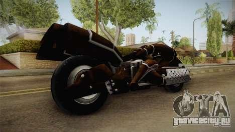 FF7AC Remnants Bike для GTA San Andreas вид справа