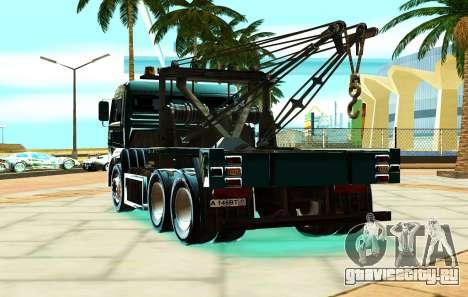 КамАЗ 6520 V8 TURBO Эвакуатор для GTA San Andreas