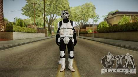 Star Wars Battlefront 3 - Scouttrooper DICE для GTA San Andreas второй скриншот