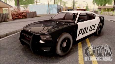 Dodge Charger Police Cruiser Lowest Poly для GTA San Andreas