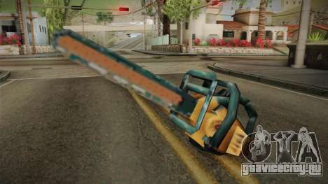 Motosierra Doble Hoja Version Oxidada для GTA San Andreas второй скриншот
