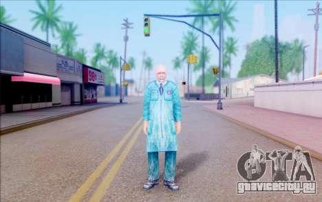 Учёный из S.T.A.L.K.E.R для GTA San Andreas второй скриншот