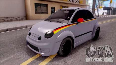 Fiat 500 Abarth для GTA San Andreas