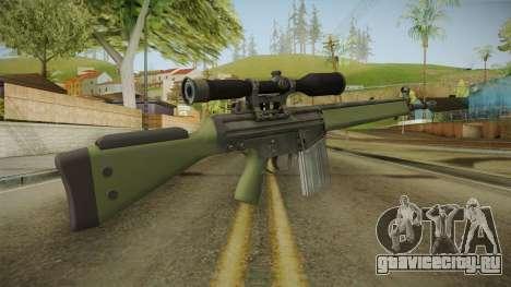 CS-GO - SG1 Sniper Rifle для GTA San Andreas