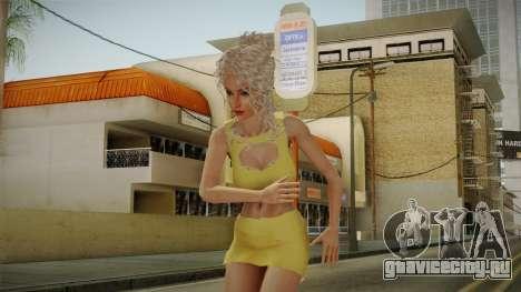 Nousha Skin для GTA San Andreas