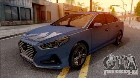 Hyundai Sonata 2018 для GTA San Andreas