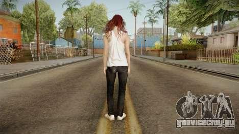 Resident Evil - Mia Winters для GTA San Andreas третий скриншот
