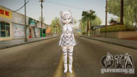 Kemono Friends - White Tiger для GTA San Andreas второй скриншот