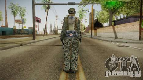 Georgian Soldier Skin v2 для GTA San Andreas третий скриншот
