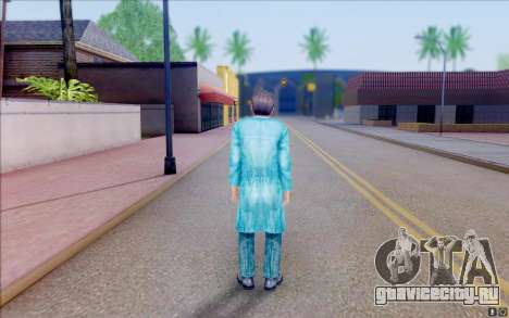 Билдовский учёный из S.T.A.L.K.E.R для GTA San Andreas четвёртый скриншот
