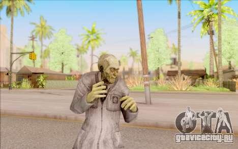Зомби учёный из S.T.A.L.K.E.R. для GTA San Andreas пятый скриншот