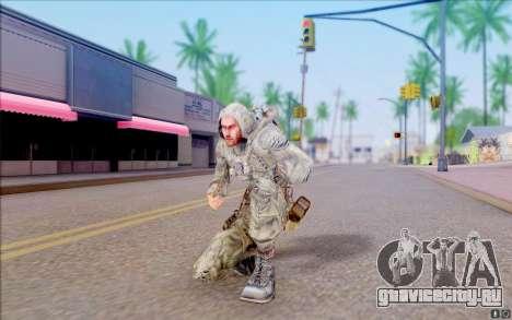 Джей-Джей из S.T.A.L.K.E.R для GTA San Andreas