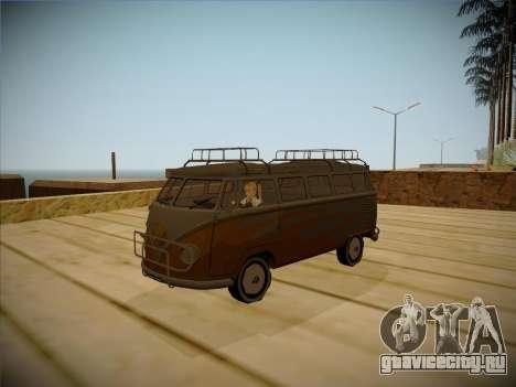 Volkswagen Samba BUS 1959 для GTA San Andreas вид слева