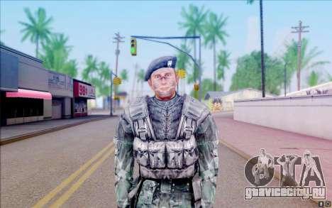 Рядовой Нейбор из S.T.A.L.K.E.R для GTA San Andreas