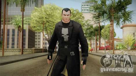 Marvel Heroes - Punisher Overcoat для GTA San Andreas