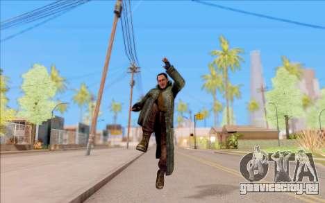 Захар из S.T.A.L.K.E.R. для GTA San Andreas пятый скриншот