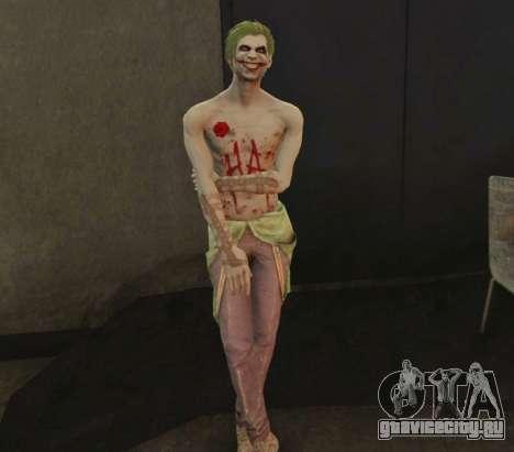 Joker from Injustice 2 для GTA 5 четвертый скриншот