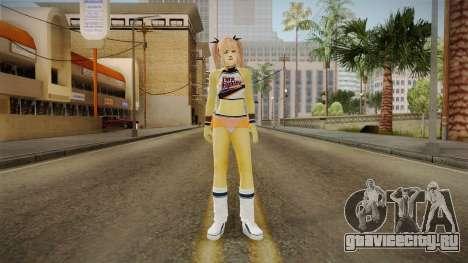 Marie Rose Orange Skirt для GTA San Andreas