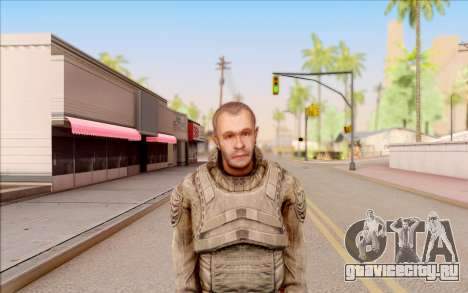 Крот из S.T.A.L.K.E.R. для GTA San Andreas третий скриншот