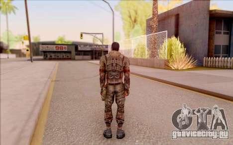 Зомби Дегтярёв из S.T.A.L.K.E.R. для GTA San Andreas четвёртый скриншот