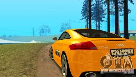 Audi TT RS Afonya TV для GTA San Andreas вид слева