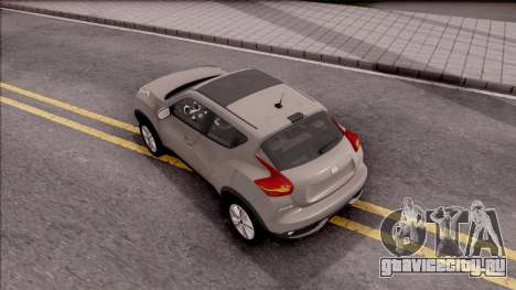 Nissan Juke для GTA San Andreas вид сзади