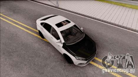 Lada Vesta для GTA San Andreas вид справа