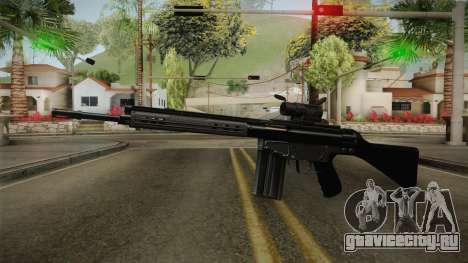 AK-4B Assault Rifle для GTA San Andreas второй скриншот